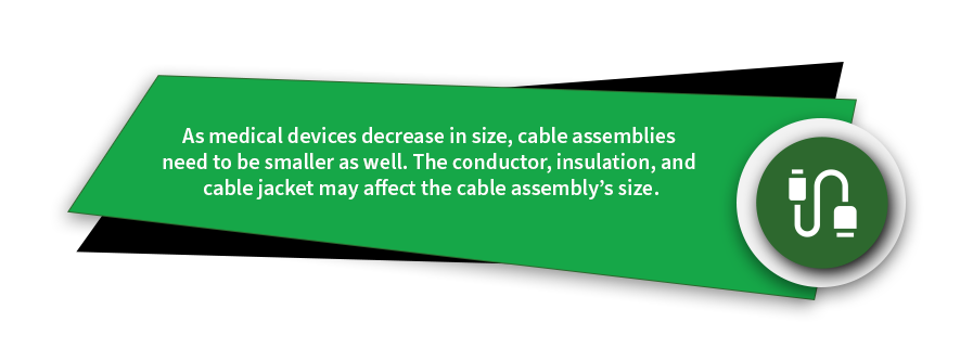 custom cable assemblies medical devices